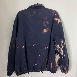 Chaps Jackets & Coats - Ralph Lauren Chaps Bleached Tie Dye ZIP Up Jacket